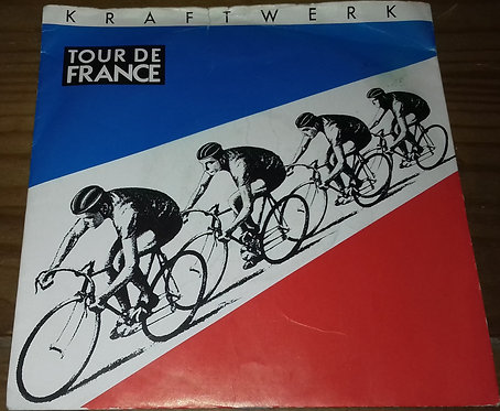 "Kraftwerk - Tour De France (7"", Single, Yel) (EMI)"