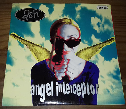 """Ash - Angel Interceptor (7"""", Single, Num) (Infectious Records, Home Grown)"""