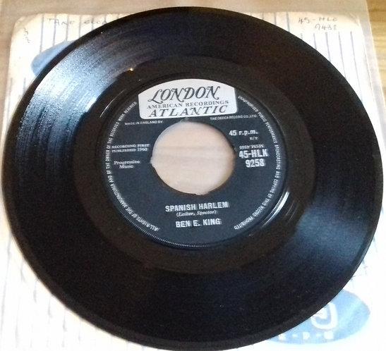 "Ben E. King - Spanish Harlem (7"", Single, Pus) (London Records, London American"