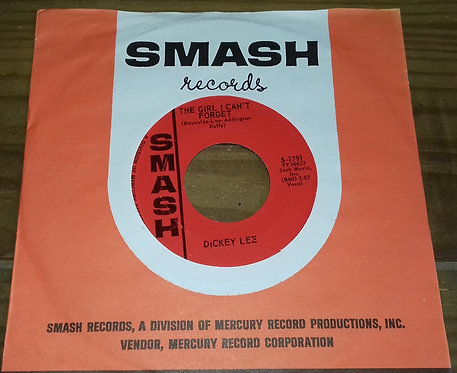 "Dickey Lee - I Saw Linda Yesterday (7"", Single) (Smash Records (4))"