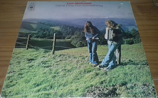 Lee Michaels - Nice Day For Something (LP, Album) (CBS)