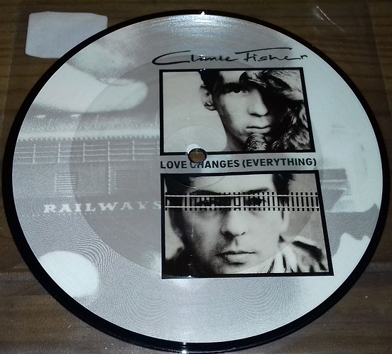 """Climie Fisher - Love Changes (Everything) (7"""", Single, Ltd, Pic) (EMI)"""