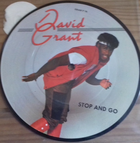 "David Grant - Stop And Go (7"", Single, Pic) (Chrysalis)"