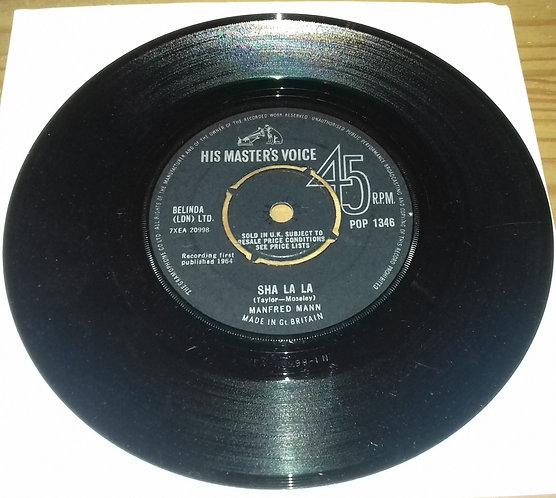 "Manfred Mann - Sha La La (7"", Single) (His Master's Voice)"