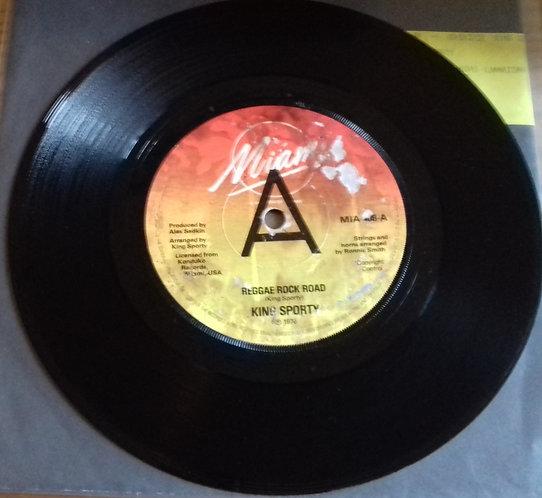 "King Sporty - Reggae Rock Road (7"", Single, Promo) (Miami (2))"