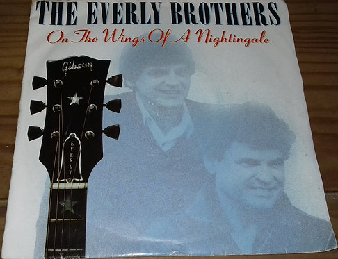 """The Everly Brothers* - On The Wings Of A Nightingale (7"""", Single, Sol) (Mercury,"""