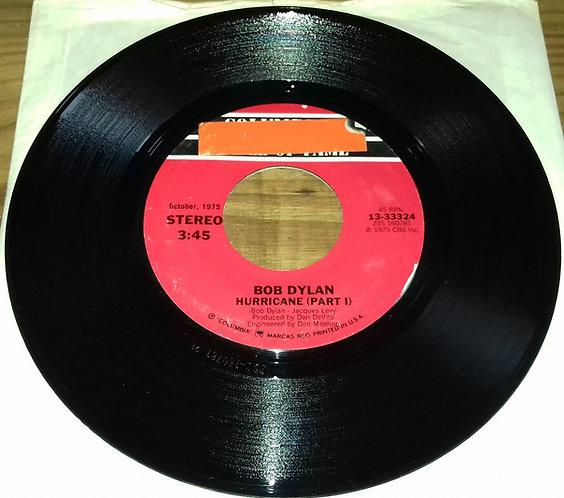 "Bob Dylan - Hurricane (Part I) / Mozambique (7"") (Columbia)"