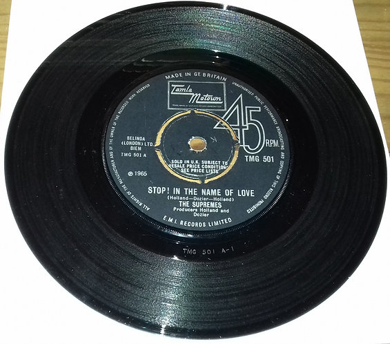"The Supremes - Stop! In The Name Of Love (7"", Single) (Tamla Motown)"