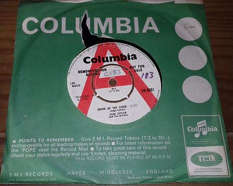"Adge Cutler & The Wurzels - Drink Up Thy Zider (7"", Single, Promo) (Columbia)"
