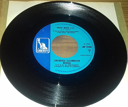 """Creedence Clearwater Revival - Green River (7"""", Single) (Liberty)"""