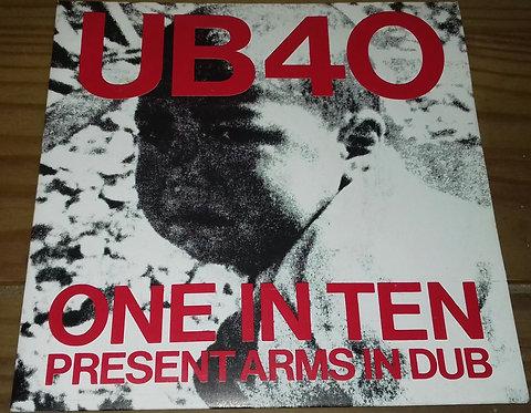 "UB40 - One In Ten / Present Arms In Dub (7"", Single) (DEP International)"