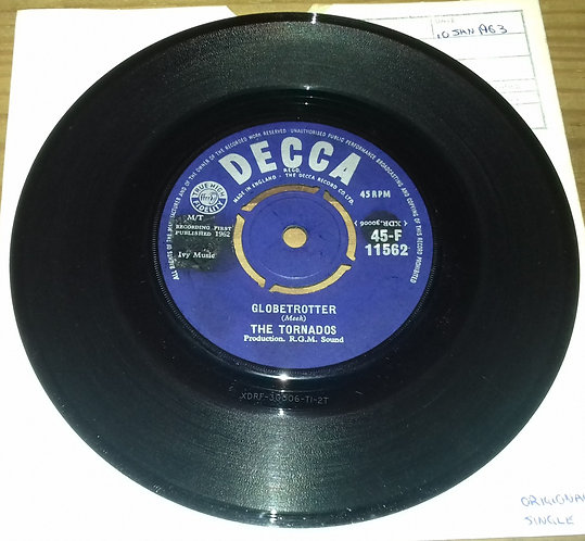 "The Tornados - Globetrotter (7"", Single) (Decca)"