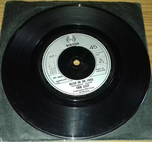 """Thin Lizzy - Killer On The Loose (7"""") (Vertigo)"""