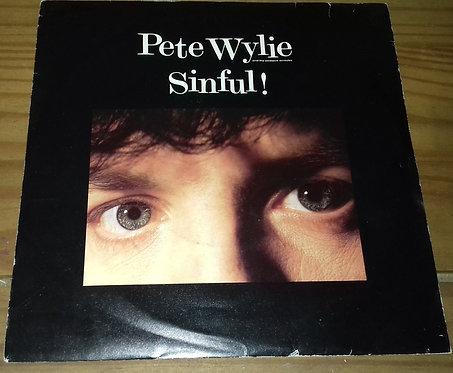 """Pete Wylie - Sinful! (7"""", Single) (MDM Records, Eternal (6))"""