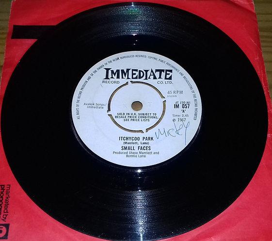 "Small Faces - Itchycoo Park (7"", Single, Mono, 4-P) (Immediate)"