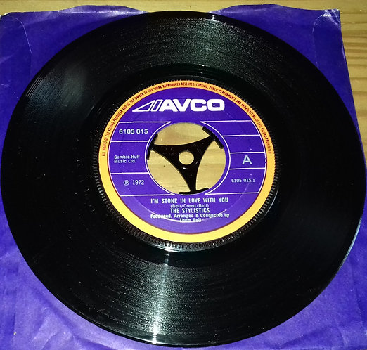"The Stylistics - I'm Stone In Love With You (7"", Pap) (Avco)"