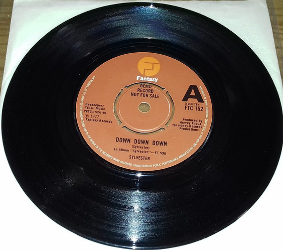 "Sylvester - Down, Down, Down (7"", Promo) (Fantasy)"