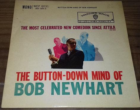 "Bob Newhart - The Button-Down Mind Of Bob Newhart (7"", EP, Mono) (Warner Bros."