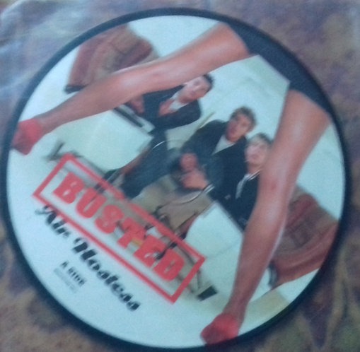 """Busted  - Air Hostess (7"""", Single, Ltd, Picture Disc)"""