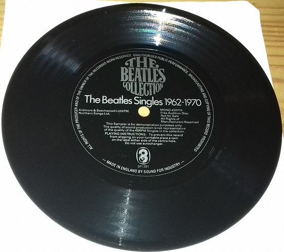 The Beatles - The Beatles Singles 1962-1970 (Flexi, S/Sided, Mono, Promo, Smplr)