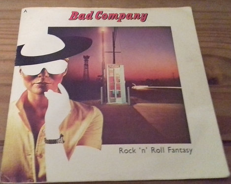 "Bad Company  - Rock 'N' Roll Fantasy (7"", Single) (Swan Song, Swan Song)"
