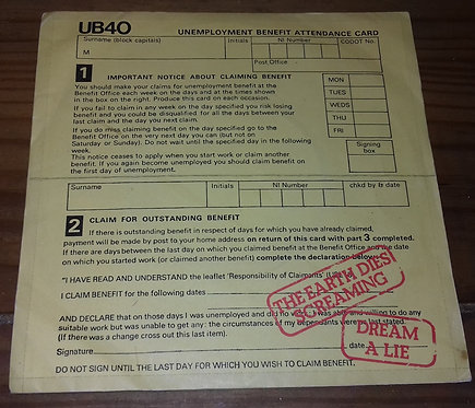 "UB40 - The Earth Dies Screaming / Dream A Lie (7"", Single) (Graduate Records)"