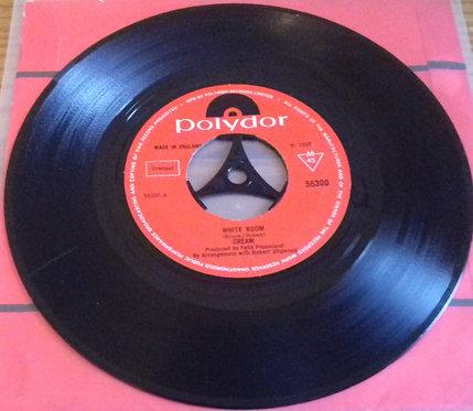 "Cream  - White Room / Those Were The Days (7"", Single, Mono) (Polydor)"