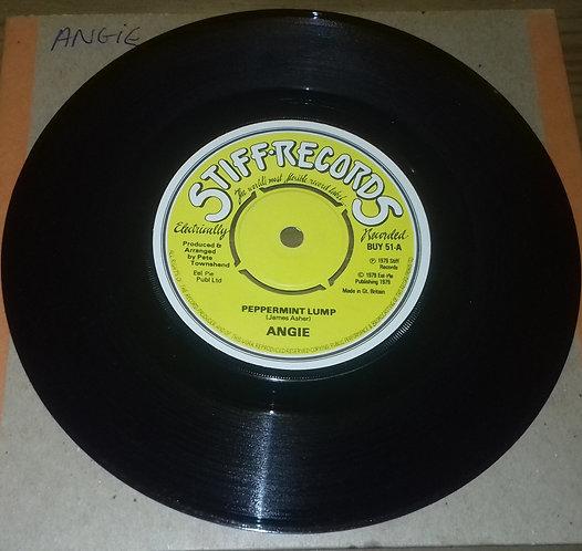 "Angie  - Peppermint Lump (7"", Single) (Stiff Records)"