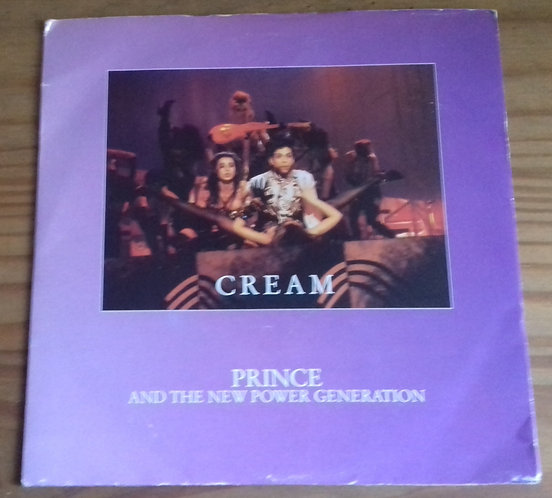 "Prince And The New Power Generation - Cream (7"", Single) (Paisley Park, Warner B"