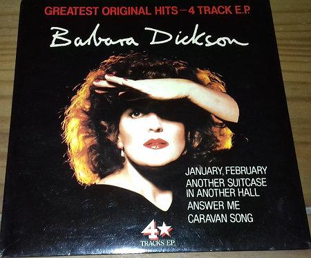 "Barbara Dickson - Greatest Original Hits - 4 Track E.P. (7"", EP, Comp) (Epic, Ep"