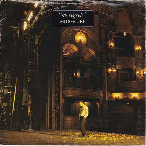 "Midge Ure – No Regrets Vinyl, 7"", 45 RPM, Single"