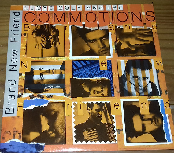 """Lloyd Cole And The Commotions* - Brand New Friend (7"""", Single, Sil) (Polydor, Po"""