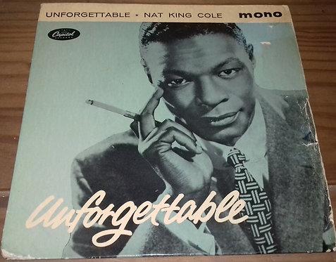 "Nat King Cole - Unforgettable (7"", EP, Mono) (Capitol Records)"