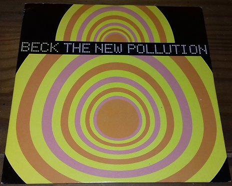 """Beck - The New Pollution (7"""") (Geffen Records)"""