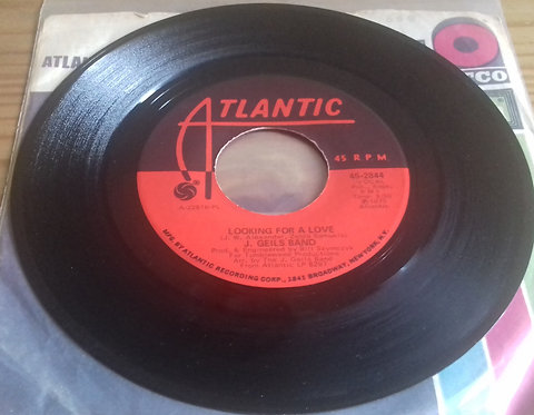 "J. Geils Band* - Looking For A Love (7"", Single, SP ) (Atlantic)"