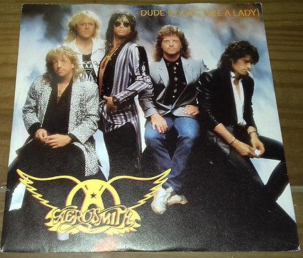 "Aerosmith - Dude (Looks Like A Lady) (7"", Single) (Geffen Records, Geffen Recor"