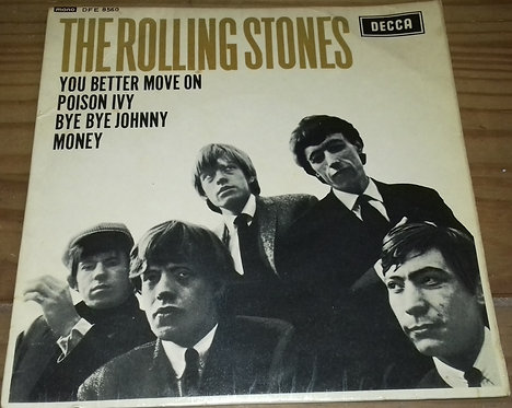 "The Rolling Stones - The Rolling Stones (7"", EP, Mono) (Decca, Decca)"