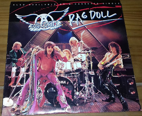 "Aerosmith - Rag Doll (7"", Single) (Geffen Records, Geffen Records)"