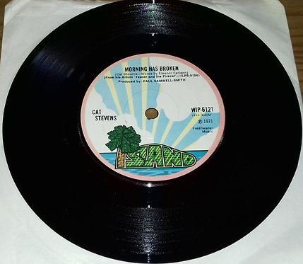 "Cat Stevens - Morning Has Broken (7"", Single, Sol) (Island Records)"