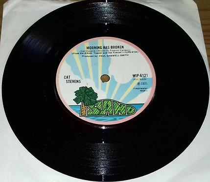 """Cat Stevens - Morning Has Broken (7"""", Single, Sol) (Island Records)"""