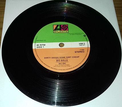 "AC/DC - Dirty Deeds Done Dirt Cheap (7"", RE) (Atlantic)"