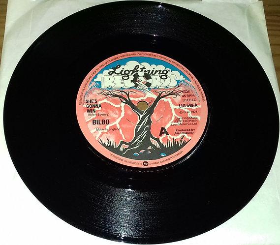 "Bilbo  - She's Gonna Win (7"") (Lightning Records (2))"