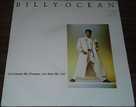 "Billy Ocean - Get Outta My Dreams, Get Into My Car (7"", Single, Pap) (Jive)"