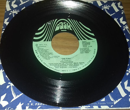 """T-Connection - On Fire / Go Back Home (7"""") (Dash)"""