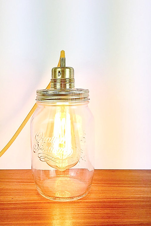 LAMPE BOCAL (GRAND FORMAT) ORANGE