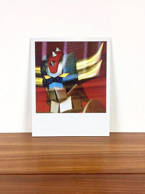 IMPRESSION SUR DIBOND: GOLDORAK (20cm x 25cm)