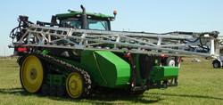 120' Boyd Boom on Track Tractor