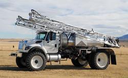 120' Boyd Boom on Ag Truck