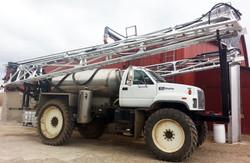120' Boyd Boom on Stahly Truck