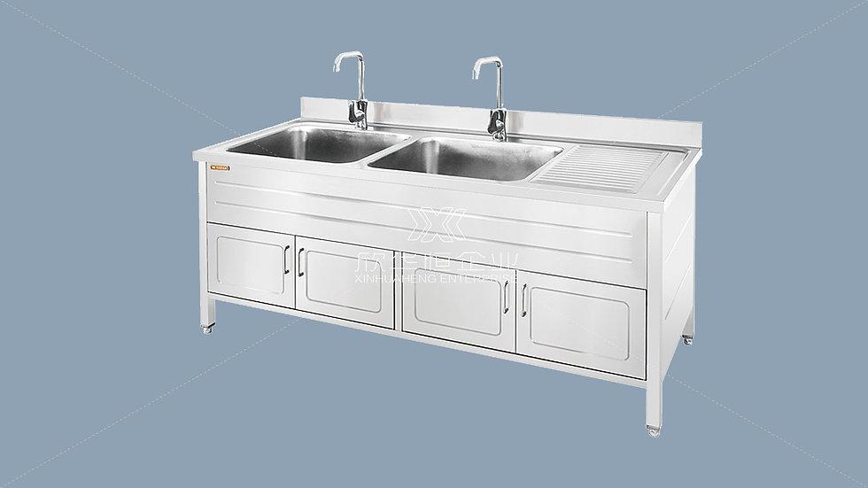 不锈钢污物清洗槽